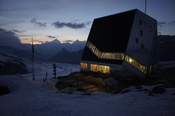 Monterosa Hütte, Canton Vallese Svizzera