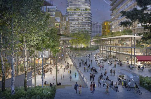 La riqualificazione di Montparnasse: spazi verdi e visione green