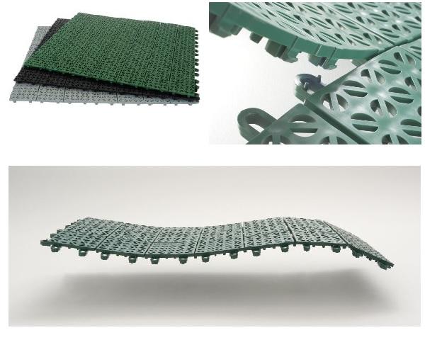 Multi-P, pavimentazione in plastica
