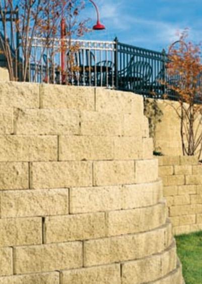 Muri di sostegno a secco in altezza