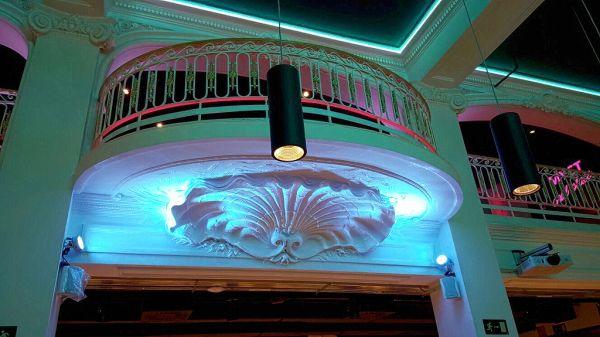 Da teatro liberty a moderna palestra, succede a Madrid