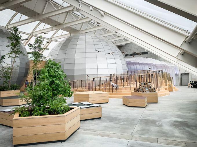 Naturkraft: sala espositiva