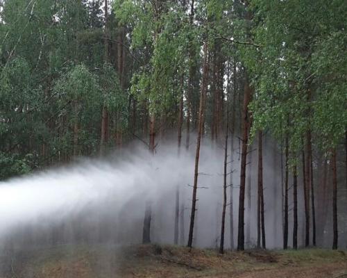 nebulizzare contro gli incendi