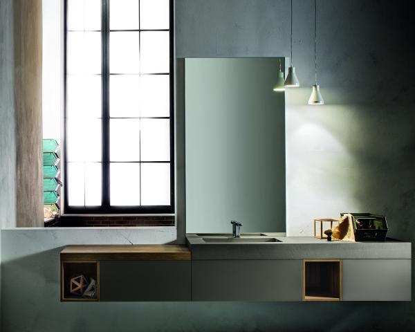 Bagno cerasa a ciascuno il suo stile for Suo e suo bagno