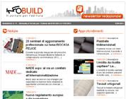 Newsletter n. 11 – Infobuild, il Portale per l'Edilizia