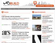 Newsletter n. 9 – Infobuild, il Portale per l'Edilizia