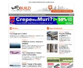 Newsletter n. 32 – Infobuild, il Portale per l'Edilizia