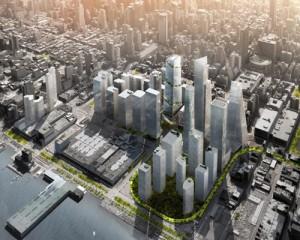 The Spiral: giardini pensili nello skyline di Manhattan