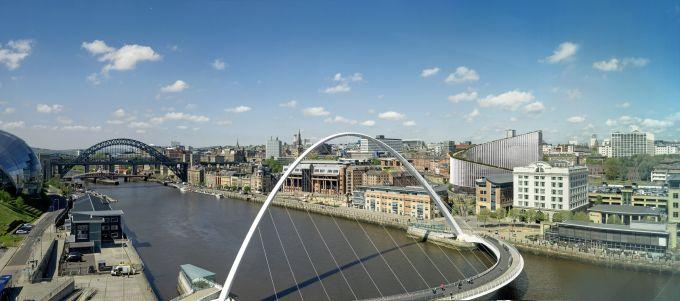 No.1 Quayside edificio per uffici ispirato alle colline a Newcastle firmato BIG