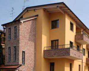 Abitazione in struttura portante in legno in sopraelevazione di fabbricato esistente