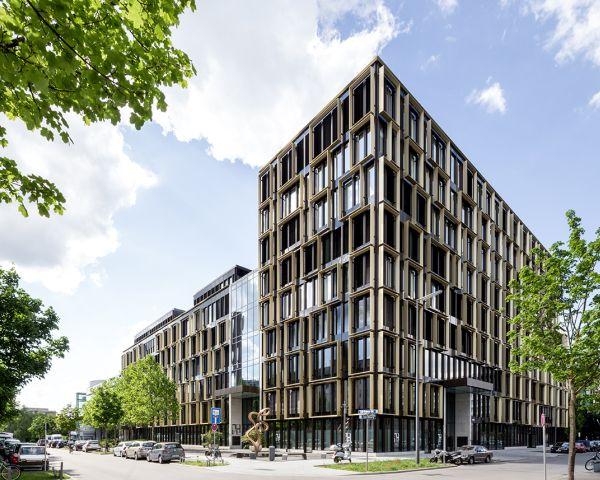 Progettazione dell'edificio per uffici Nove di Monaco di Baviera by Antonio Citterio e Patricia Viel
