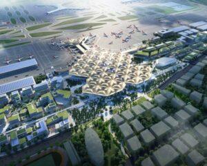Il nuovo aeroporto di Shenzhen è ispirato agli alberi di mangrovie