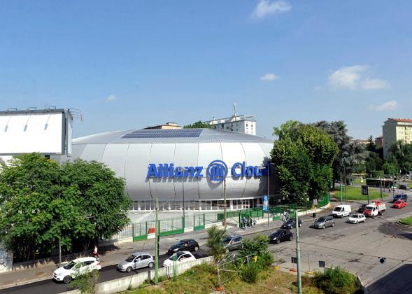 Inaugurato lo scorso 14 giugno l'Allianz Cloud, ex Palalido di Milano