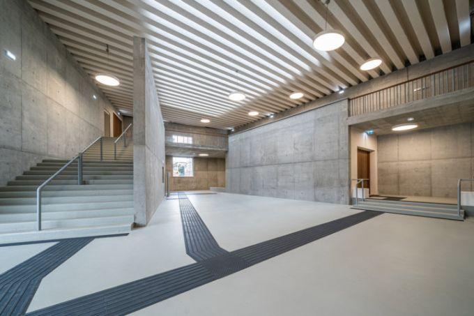 Gli interni del nuovo Polo Didattico a Pisa