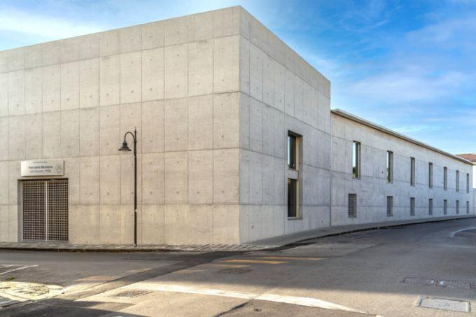 Il progetto del nuovo Polo Didattico a Pisa dalle linee rigorose e minimaliste
