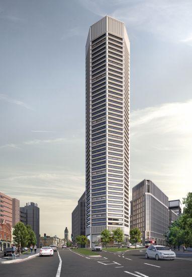 A Birmingham Octagon, primo grattacielo ottagonale al mondo
