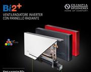 Ventilradiatore inverter con pannello radiante: Olimpia Splendid Bi2Plus