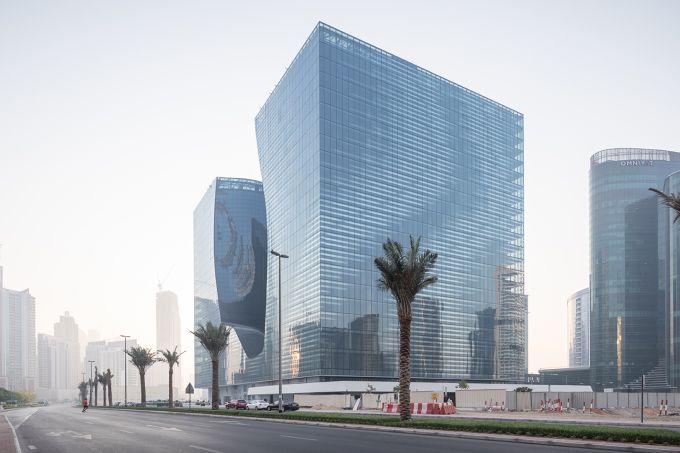 Opus hotel a Dubai progettato da Zaha Hadid Architects
