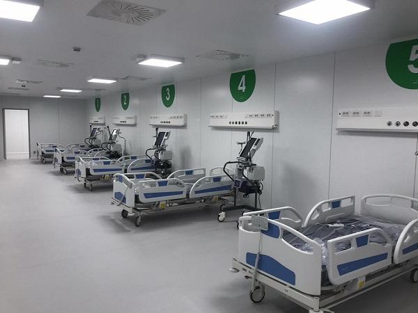 Ospedale della Fiera a Milano