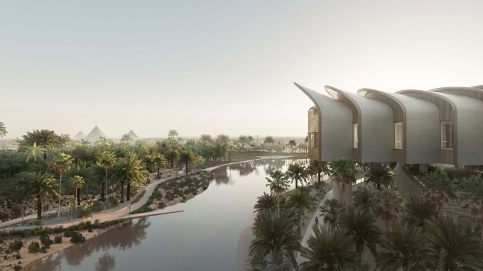 Magdi Yacoub Global Heart Center, ospedale cardiaco di El Cairo, progetto di Foster and Partners