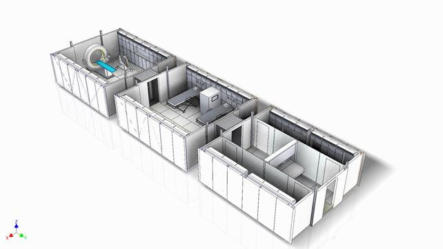 Progetto Enea per la realizzazione di mini ospedali mobili con materiali innovativi