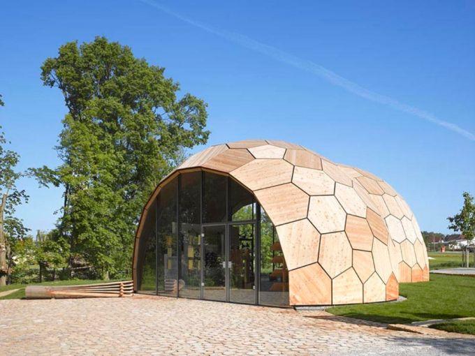 Padiglione per la Mostra di Giardinaggio, Schwäbisch Gmünd, 2014