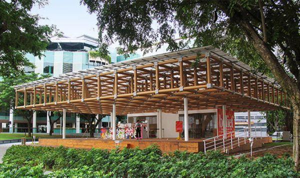 Padiglione per la Biennale di Singapore, 2006