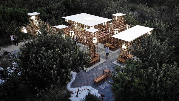 Il padiglione modulare italiano vince la competizione internazionale UIA-CBC