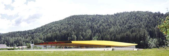 Brunico, il palaghiaccio di CeZ Architetti