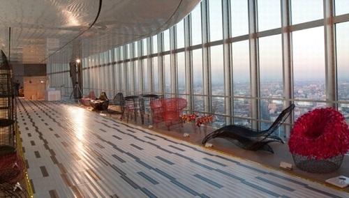 Interno del 31° piano del grattacielo Pirelli