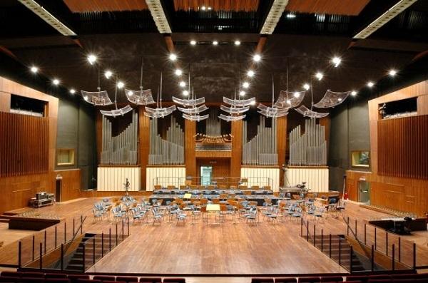 Vista del palcoscenico