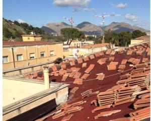 Onduline per la ristrutturazione della copertura dell'ospedale Vincenzo Cervello
