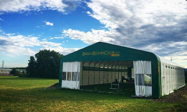 Palestra mobile Biella Rugby Club