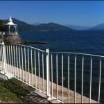 Sistema di recinzione di design bella ed in equilibrio con il paesaggio