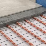Pannelli radianti piani per riscaldamento e raffrescamento Velcro