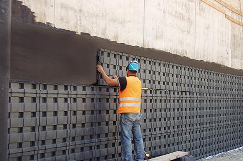 Defender pannello per la protezione dei muri controterra for Igloo edilizia prezzi