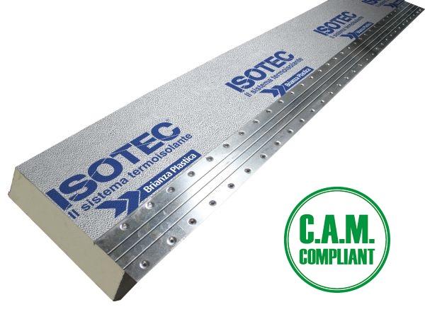 Isolamento termico per coperture e facciate non ventilate ISOTEC LINEA