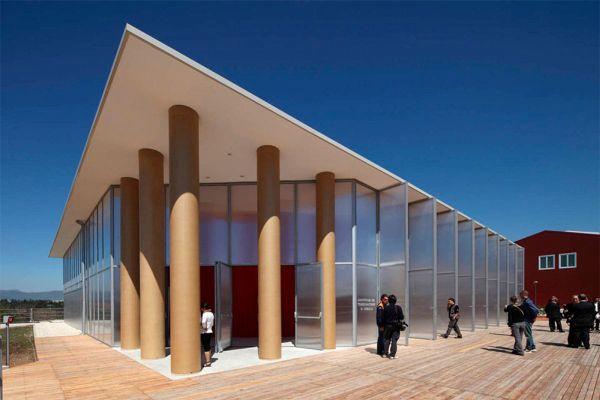 Paper Concert Hall, L'Aquila, 2011