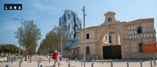 Ingresso Parc Des Ateliers ad Arles