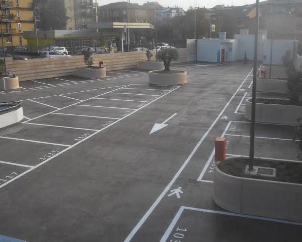 Copertura del parcheggio