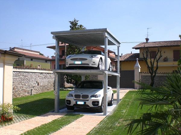 Parcheggio meccanizzato a scomparsa