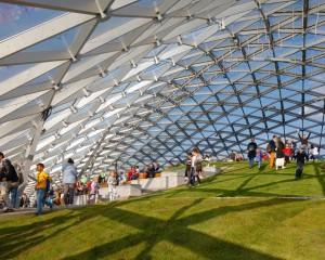 """Zaryadye Park e il """"wild urbanism"""": ecco il nuovo parco di Mosca"""