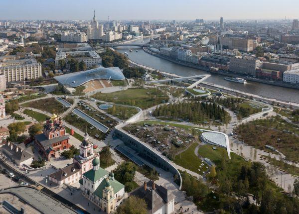 il nuovo Zaryadye Park di Mosca