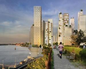 Presto a Stoccolma un nuovo quartiere con grattacieli in legno