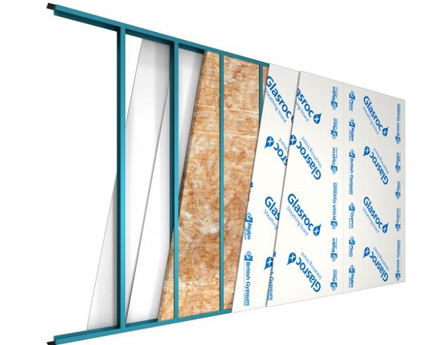 Gyproc Glasroc® X è una lastra ad elevate prestazioni realizzata da Saint-Gobain