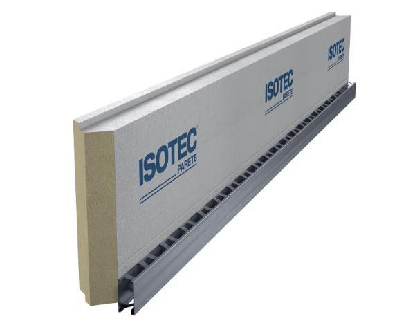 Isotec parete sistema termoisolante per facciate ventilate
