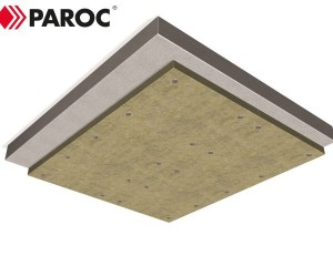 Protezione di acciaio e calcestruzzo con PAROC FPS: unico prodotto massima prestazione!