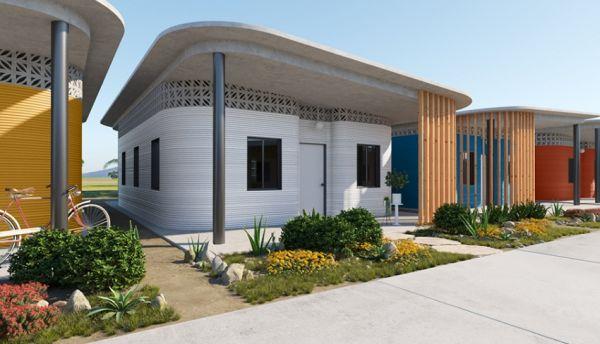 Progettato in America latina il primo quartiere per i poveri fatto di case stampate in 3d