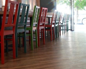 Lo storico Suisse Bar ristrutturato da Gerflor