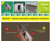 BIOPLUS – SISTEMA COSTRUTTIVO ANTISISMICO TESTATO E CERTIFICATO